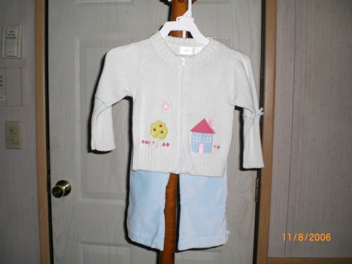 SECOND STEP 2 PEICE PANT AND SWEATER SET