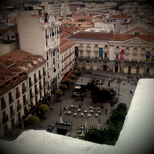 Madrid. Santa Ana - iPhone photography