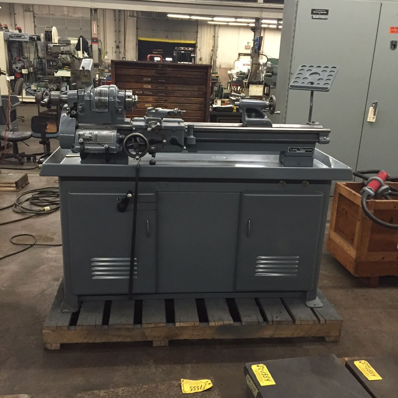 "RECONDITION 10"" SOUTH BEND LATHE 4-1/2 FOOT BED GUNSMITHING"