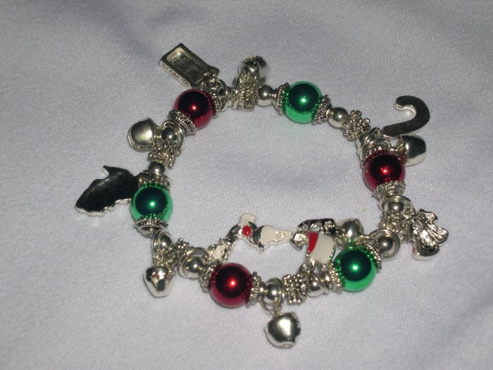 Christmas Bracelet with Ornaments