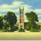Topeka Kansas High School  Curteich Used Postcard