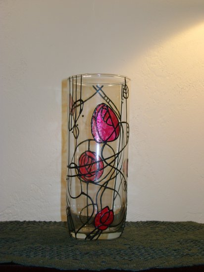 Mackintosh Roses Vase