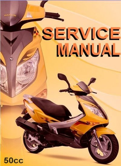 GY6 50cc Scooter Service Repair Manual Rebuild Fix Chinese Baotian  Zhongyu  Kinroad  Jianshe