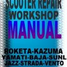 GY6 50cc Scooter Service Repair Manual Rebuild Fix Chinese Yuan Znen Zennco Zhenhua Zing Zongshen