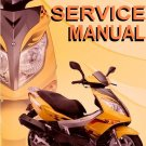 GY6 50cc Scooter Service Repair Manual Rebuild Fix Chinese ZNEN Motor Z Hensim liquid Flyscooter