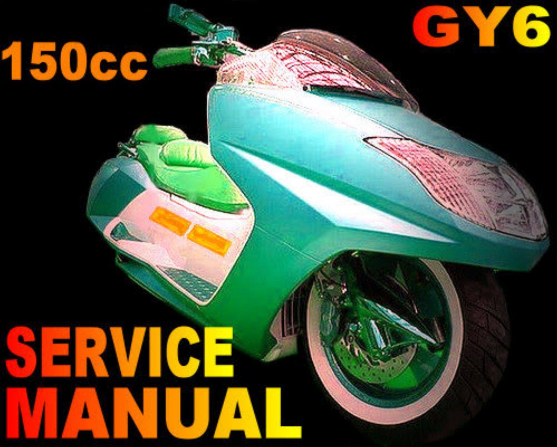 Scooter 150cc Service Repair Manual Longbo Merato Peace Sports VIP ...