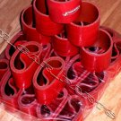 "24 pcs 3"" Inch Red Silicone Couplers  for I/C Intercooler or Air Filter Intakes"