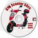 Scooter 50cc GY6 Madami Kait VIP Service Repair Manual