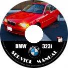 BMW 2000 323i e46 3-Series Factory OEM Service Repair Shop Manual on CD Fix Repair Rebuilt