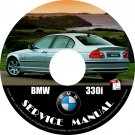 BMW 2000 330i e46 3-Series Factory OEM Service Repair Shop Manual on CD Fix Repair Rebuilt