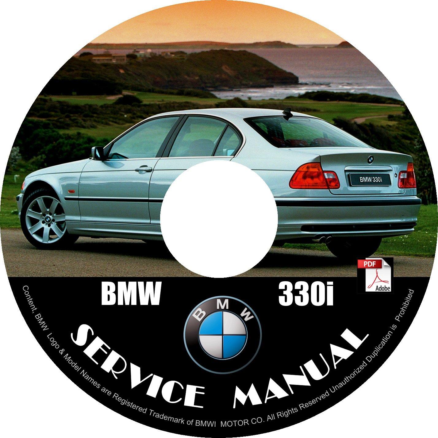 BMW 2004 330i e46 3-Series Factory OEM Service Repair Shop Manual on CD Fix Repair Rebuilt
