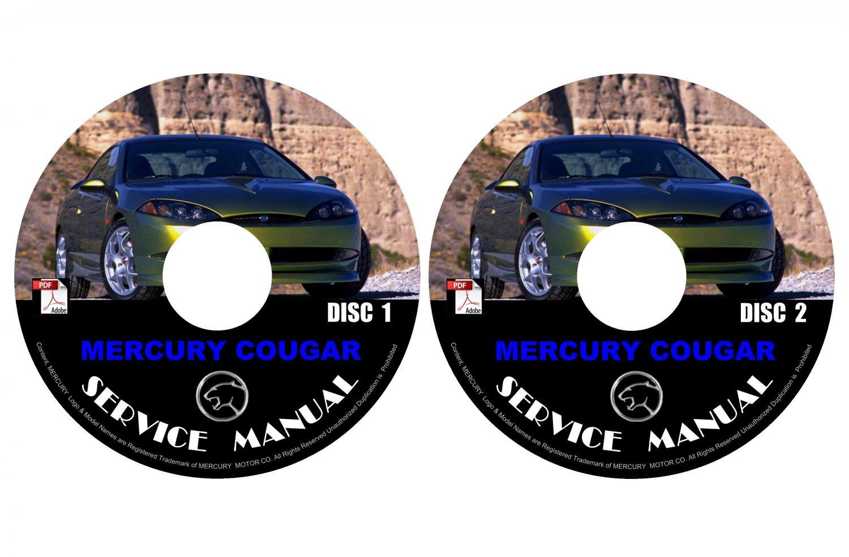 1999 Mercury Cougar Repair Service Shop Manual On Cd Fix