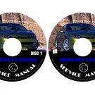 2001 Mercury Cougar Repair Service Shop Manual on CD Fix Repair Rebuilt Workshop