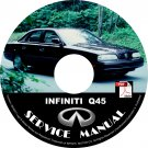 1995 Infiniti Q45 OEM Factory Service Repair Shop Manual on CD 95 Workshop Guide