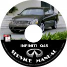 2005 Infiniti Q45 Factory Service Repair Shop Manual on CD Fix Repair Rebuild 05 Workshop Guide