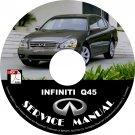 2006 Infiniti Q45 Factory Service Repair Shop Manual on CD Fix Repair Rebuild 06 Workshop Guide