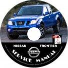 2007 Nissan Frontier Service Repair Shop Manual on CD Fix Rebuild '07