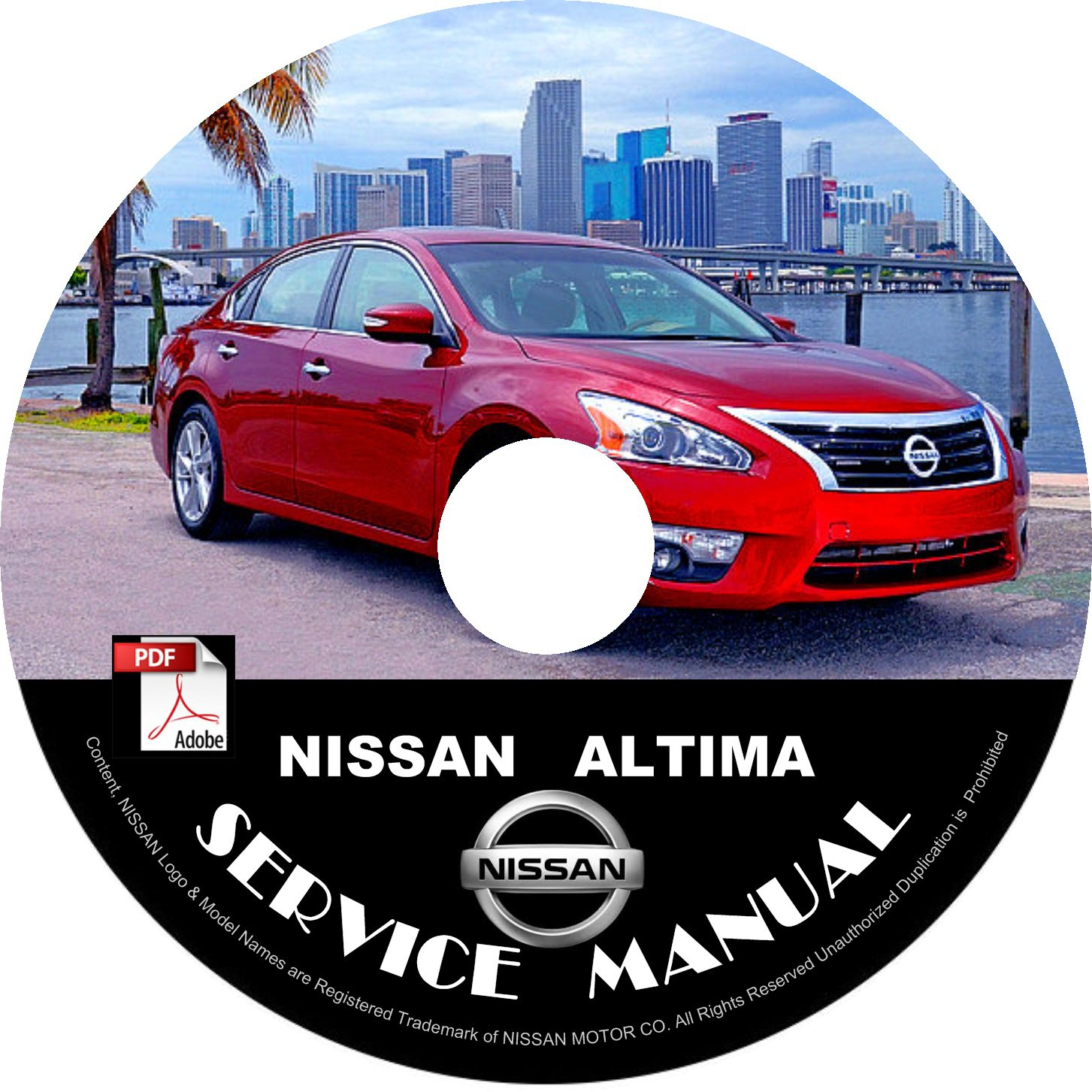 2015 nissan altima service repair shop manual on cd. Black Bedroom Furniture Sets. Home Design Ideas