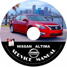 2015 Nissan Altima Service Repair Shop Manual on CD Factory OEM