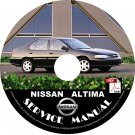 Nissan 2001 Altima Service Repair Shop Manual on CD 01 Factory OEM