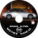 Nissan 2009 Altima Service Repair Shop Manual on CD 09 Factory OEM