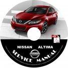 2016 Nissan Altima Service Repair Shop Manual on CD