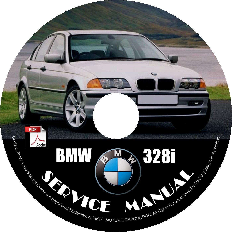 BMW 2000 328i e46 3-Series Factory OEM Service Repair Shop Manual on CD Fix Repair Rebuilt