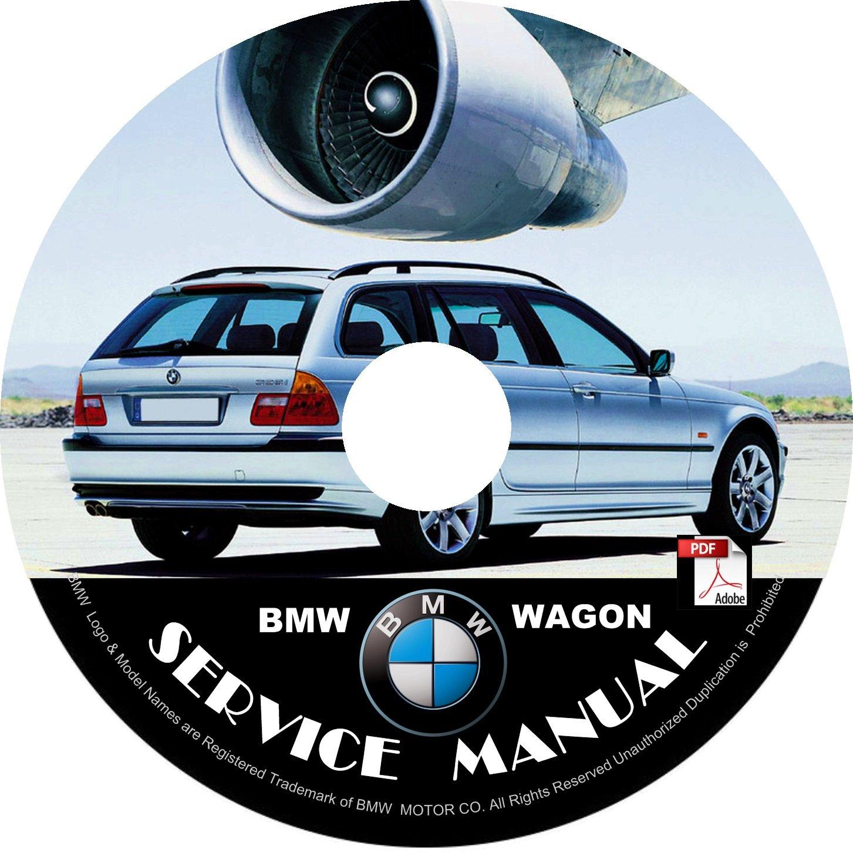 BMW 2000 Wagon e46 3-Series Factory OEM Service Repair Shop Manual on CD Fix Repair Rebuilt
