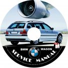 BMW 2000 Wagon e46 3-Series Factory OEM Service Repair Shop Manual on CD Fix Repair Rebuilt