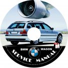 BMW 1999 Wagon e46 3-Series Factory OEM Service Repair Shop Manual on CD Fix Repair Rebuilt