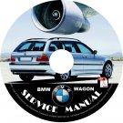 BMW 2002 Wagon e46 3-Series Factory OEM Service Repair Shop Manual on CD Fix Repair Rebuilt