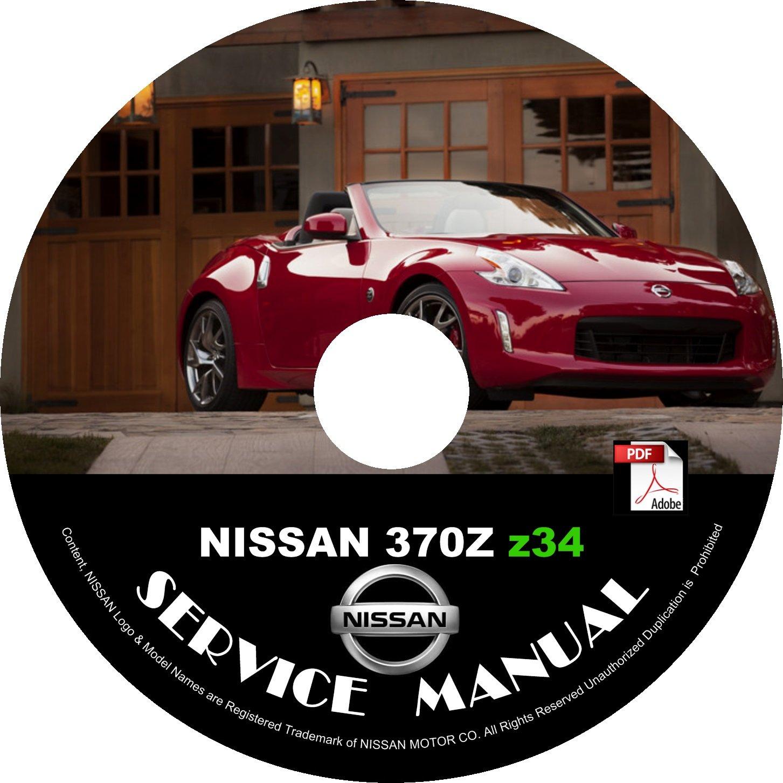 2016 Nissan 370Z Factory OEM Service Repair Shop Manual on CD