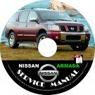 2005 Nissan Armada Factory Service Repair Shop Manual on CD