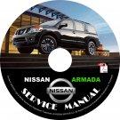 2008 Nissan Armada Factory Service Repair Shop Manual on CD