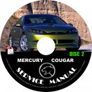 2001 Mercury Cougar Repair Service Shop Manual on CD Fix Repair Rebuilt Workshop