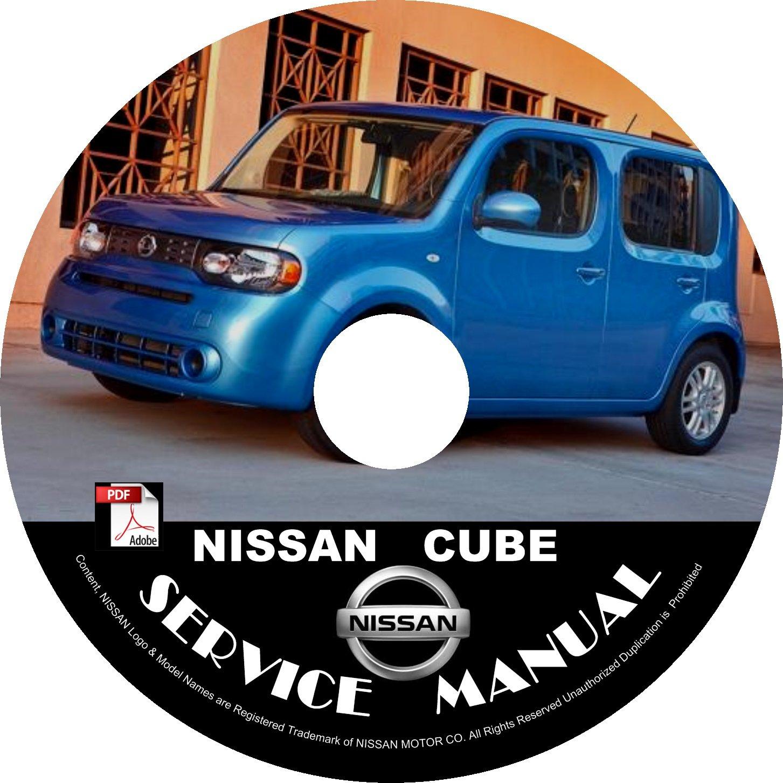 2010 Nissan Cube Service Repair Shop Manual on CD