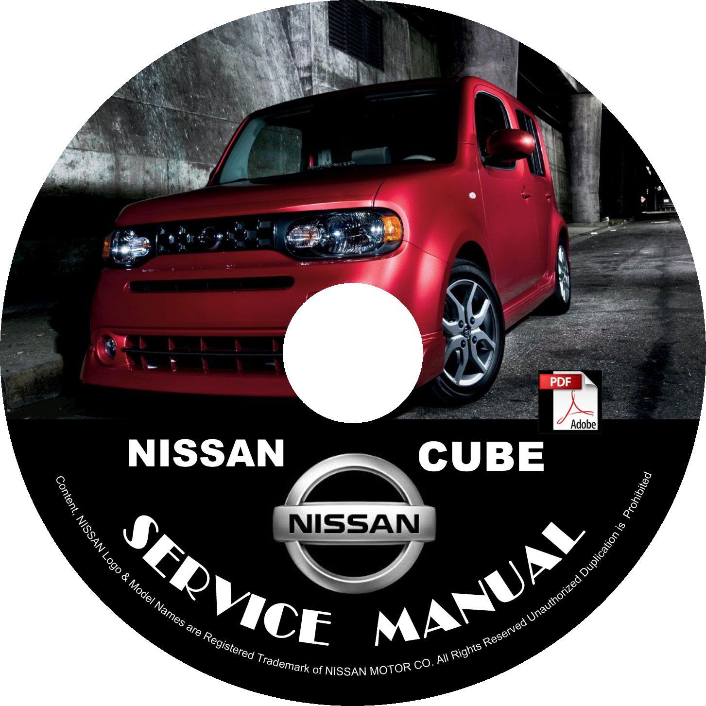 2013 Nissan Cube Service Repair Shop Manual on CD Fix Rebuilt 09