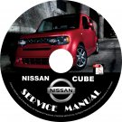 2013 Nissan Cube Service Repair Shop Manual on CD Fix Rebuilt 09