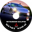 2001 Mitsubishi Eclipse Repair Service Shop Manual on CD GT GS Spyder Fix Repair Rebuilt Workshop