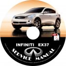 2013 Infiniti EX37 Factory OEM Service Repair Shop Manual on CD