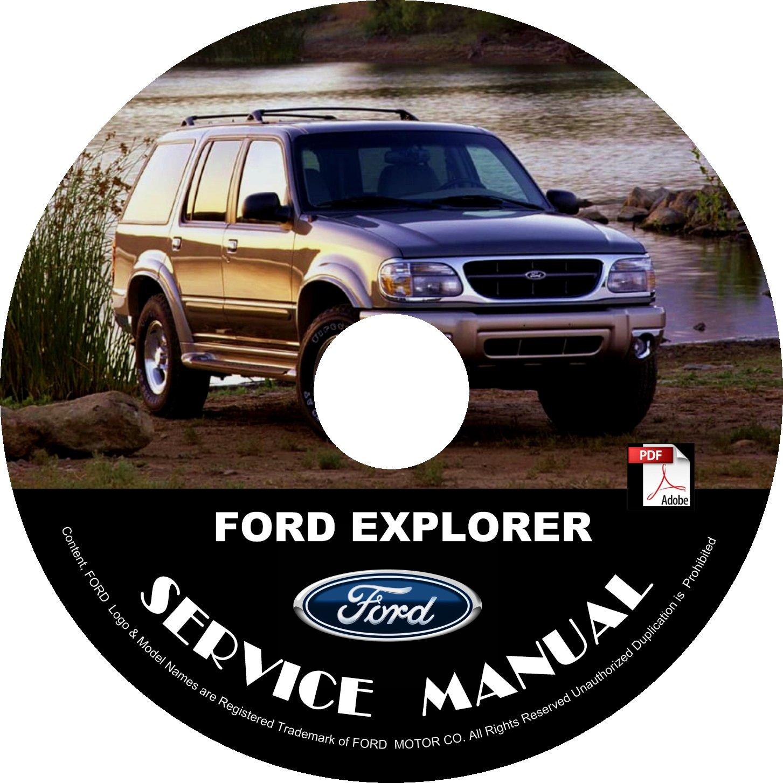 2000 Ford Explorer Engine & Transmission Service Repair Shop Manual on CD