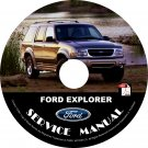 2001 Ford Explorer Engine & Transmission Service Repair Shop Manual on CD