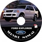 2002 Ford Explorer Engine Service Repair Shop Manual on CD