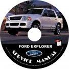 2005 Ford Explorer Engine Service Repair Shop Manual on CD
