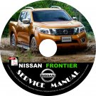 2015 Nissan Frontier Service Repair Shop Manual on CD Fix Rebuild 01