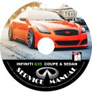 2007 Infiniti G35 Coupe & Sedan Service Repair Shop Manual on CD