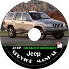 1999 Jeep Grand Cherokee Factory Service Repair Shop Manual on CD Fix Repair Rebuilt 99 Workshop