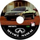 1997 97 Infiniti i30 Factory OEM Service Repair Shop Manual on CD Fix Repair Rebuild '97 Workshop