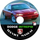 1994 Dodge Intrepid Factory Service Repair Shop Manual on CD Fix Repair Rebuilt 94 Workshop Guide