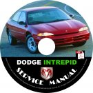 1996 Dodge Intrepid Factory Service Repair Shop Manual on CD Fix Repair Rebuilt 96 Workshop Guide